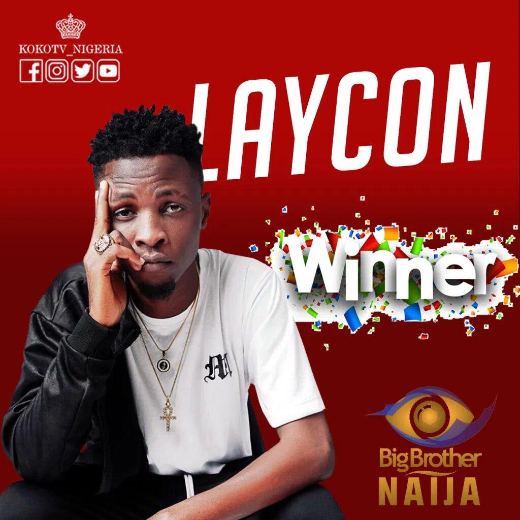 "Photo of BBNaija2020: Olamilekan Agbeleshe ""Laycon"" Is The Winner Of The Lockdown Reality TV Show"