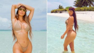 Photo of 40 Years Old Mum of 4, Kim Kardashian Slays in New Bikini Photos