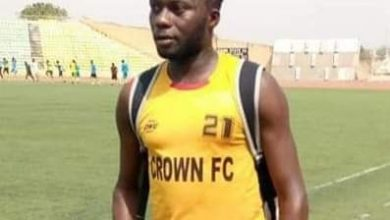 Photo of Nigerian footballer slumps and dies in Ogun State