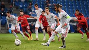 Photo of Ramos, record-breaker, misses two penalties as Spain draws with Switzerland in UEFA Nations League