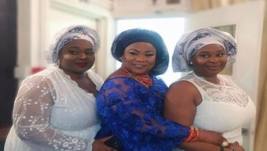 Photo of Stunning Photos of Twin Daughters of Nollywood Actress, Sola Sobowola