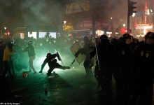 Photo of Paris protest against police brutality turn violent