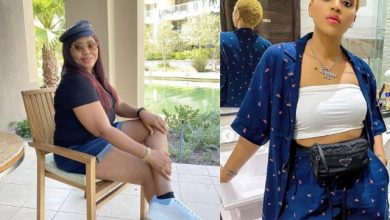 Photo of Regina Daniels Mum, Rita Daniels Dragged For Wearing Bum Short in Public (Photo)