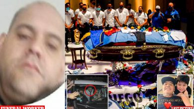 Photo of Maradona: Funeral worker who took photos with coffin apologises