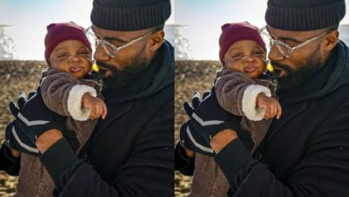 Photo of BBN Mike Edwards Takes His 3-Month old Son On Swimming Lesson
