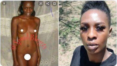 Photo of Cindy Sunya: Nude photo of Ugandan artiste leaks after dubbing Omah Lay, Tems 'idiots'