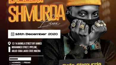 Photo of Bella Shmurda Will Be Live At Club Henod, Abule Egba on The 18th of December 2020