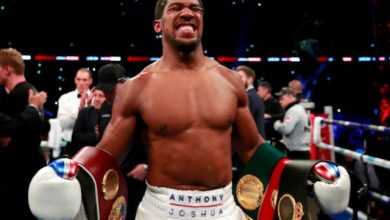 Photo of Anthony Joshua Named After A Street in Ogun State  