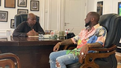 Photo of Davido hints on joining family business