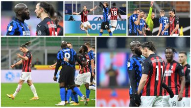 Photo of Ibrahimovic sees red as Inter win Italian Cup derby