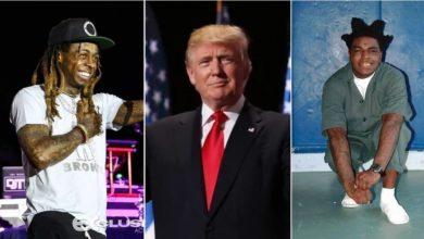 Photo of Lil Wayne, Kodak Black pardoned on Trump's final day in office