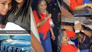 Photo of Regina Daniels gifts mum Toyota Prado SUV on her birthday (VIDEO) –