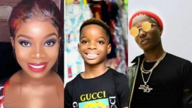 """Photo of Buhari Isn't Who We Think He Is"""" – Wizkid's Son (Video)"""