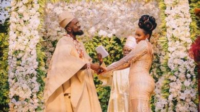 Photo of Patoranking and Yemi Alade Reportedly Gets Married (Photos)