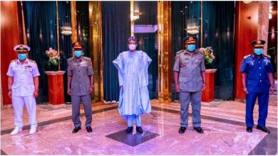 Photo of Reason Buhari Sacked Service Chiefs – Reports