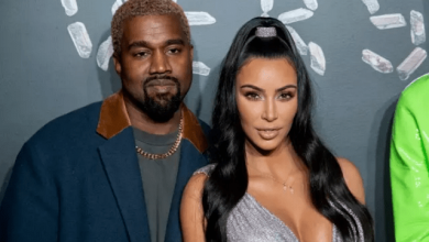 Photo of Kanye West Reportedly Cuts Off Kim Kardashian, Making Her Go Through Security to Reach Him