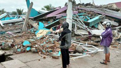 Photo of Dozens killed, hundreds injured as quake hits Indonesia's Sulawesi