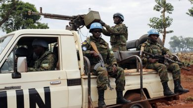 Photo of UN troops retake control of rebel-held Central African city