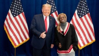 Photo of Lil Wayne appreciates Donald Trump for granting him presidential pardon
