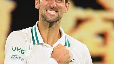 Photo of Novak Djokovic powers past Aslan Karatsev