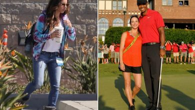 Photo of Erica Herman, Tiger Woods' girlfriend spotted visiting him at hospital