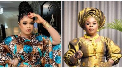 Photo of Bobrisky challenged to 'no makeup' contest by emerging crossdresser, Michelle Page