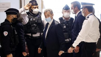 Photo of Ex French President Sarkozy sentenced to year in prison, plus 2 years suspended, for corruption