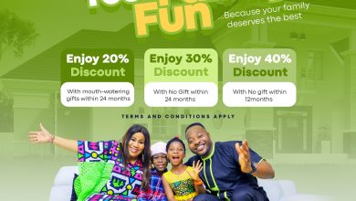 Photo of You're N25k Away From Being a Landlord in the Adron Homes Easter Family Easter Fun Promo