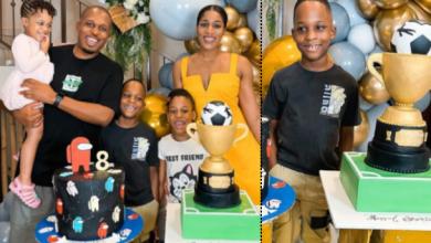 Photo of Naeto C Celebrates Son's Birthday, Shares Adorable Photos