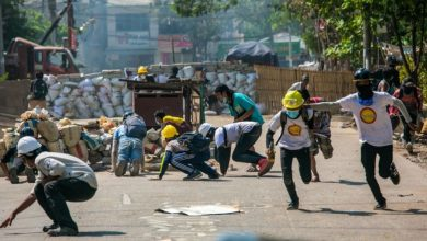 Photo of Health workers protest in central Myanmar after deadly crackdown