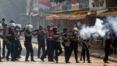 Photo of Myanmar military sentences 19 to death, says anti-coup protests dwindling