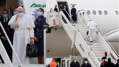 Photo of Pope Francis departs Iraq after historic trip