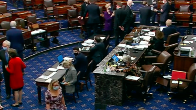 Photo of Senate delays debate on Biden's $1.9 trillion COVID-19 bill while it is read aloud