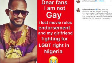 Photo of Uche Maduagwu retracts gay claim after girlfriend dumped him