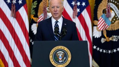 Photo of Joe Biden expresses 'grave concern' over violence in Israel, says Hamas must 'cease firing rockets'