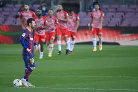Photo of Barcelona slip up at home to Granada