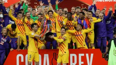 Photo of Barcelona thrash Athletic Bilbao to lift Copa Del Rey