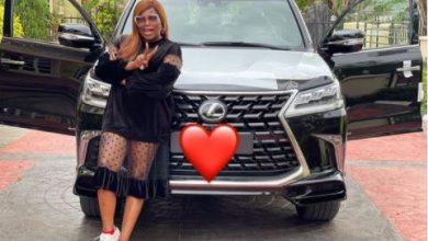 Photo of Funke Akindele receives Lexus SUV gift worth N135M