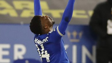 Photo of Iheanacho grabs 14th goal in 14 matches to lead Leicester to victory over Crystal Palace