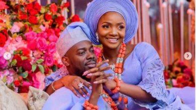 Photo of Adekunle Gold celebrates wife, Simi as she clocks 33