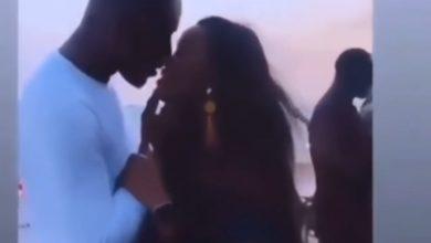 Photo of Timini Egbuson, Cee C share a kiss (VIDEO)