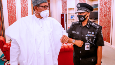 Photo of Details of Discussion between President Buhari And IGP Emerges