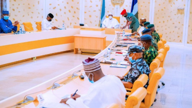 Photo of President Buhari Holds Security Meeting With Service Chiefs