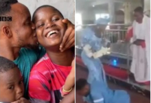 Photo of Disabled Nigerian Man and His Wife Share Their Amazing Love Story
