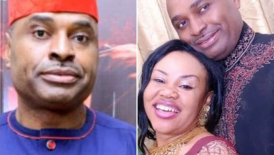 Photo of Kenneth Okonkwo Expresses Love to His Wife on Her Birthday