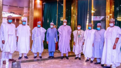 Photo of Insecurity: Buhari Meets Northern Governors