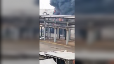 Photo of EXPLOSION, fire rock Mexican oil refinery in Veracruz state (Video)