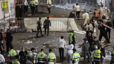 Photo of Dozens killed, 100+ injured in stampede at crowded bonfire festival in Israel