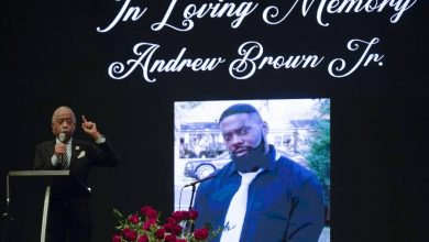 Photo of Andrew Brown Jr.'s funeral held amid growing calls for bodycam video