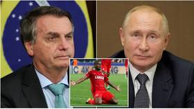 Photo of Brazilian leader Bolsonaro thanks Putin after release of jailed driver of former Spartak Moscow star Fernando in banned drug case